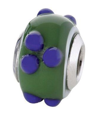 CEM Glasbeads Drops Beads Glaskugel 925/Silber CD778