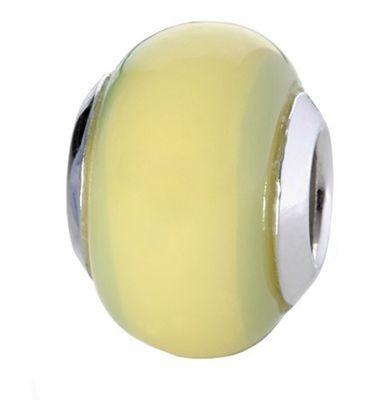 CEM Glasbeads Drops Beads Glaskugel 925/Silber CD780