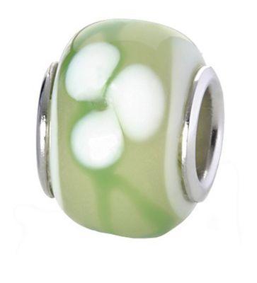 CEM Glasbeads Drops Beads Glaskugel 925/Silber CD783