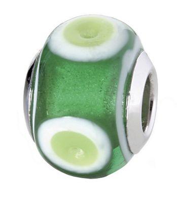 CEM Glasbeads Drops Beads Glaskugel 925/Silber CD784