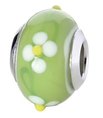 CEM Glasbeads Drops Beads Glaskugel 925/Silber CD794