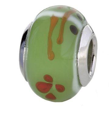 CEM Glasbeads Drops Beads Glaskugel 925/Silber CD797