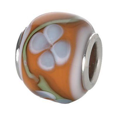 CEM Glasbeads Drops Beads Glaskugel 925/Silber CD803