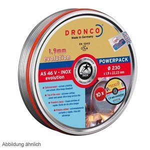 Dronco Trennscheibe AS 46 V 230 x 1,9 x 22,23 10er-Lifetime-Plus Dose