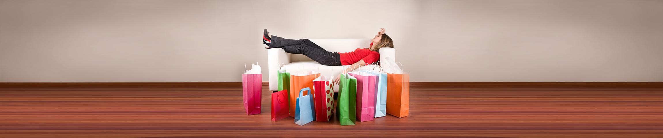 Entspanntes Shopping von überall...