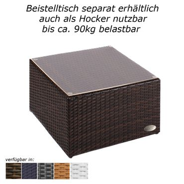 Sunlounger Toscana Java brown – Bild 8