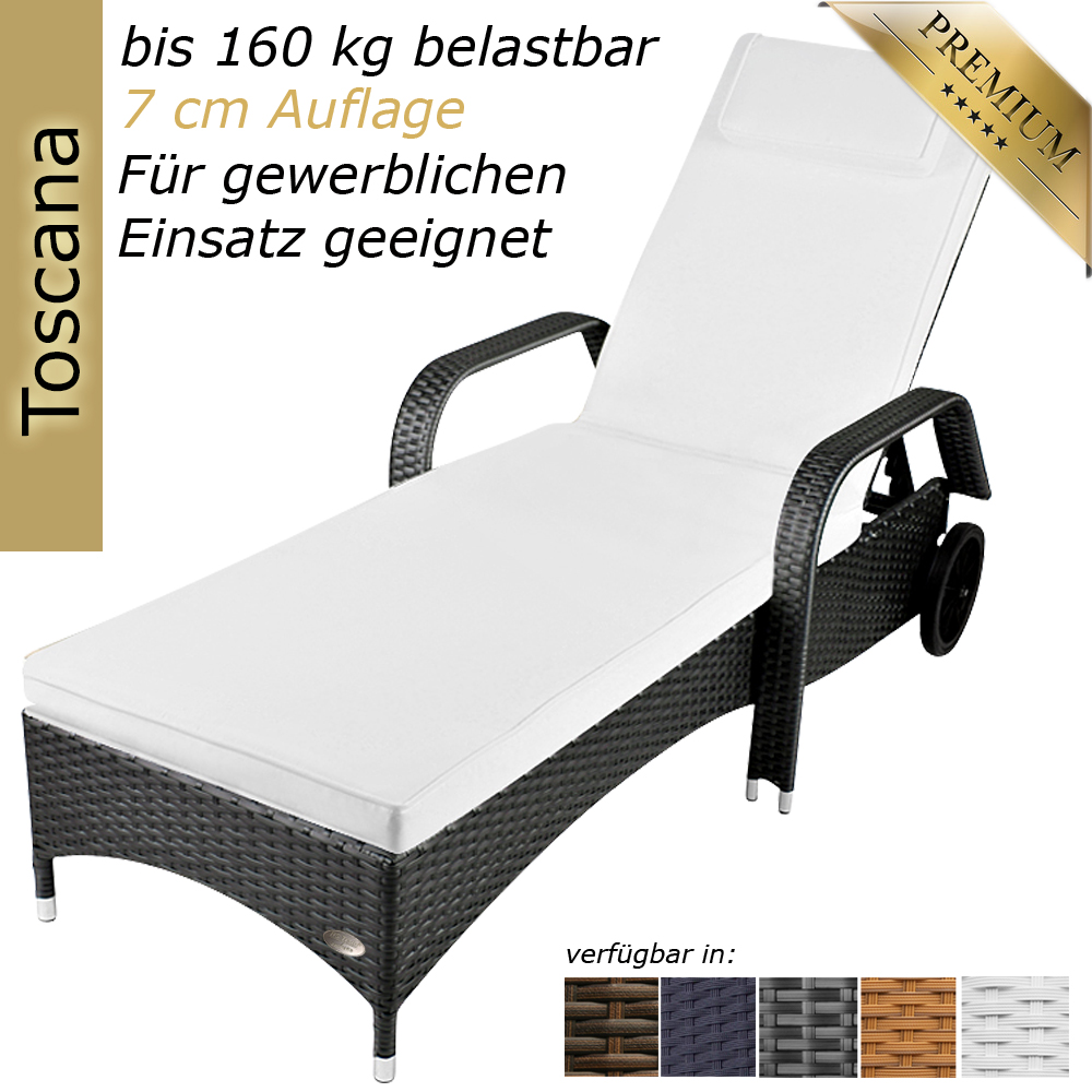 sonnenliege gartenliege liege liegestuhl relaxliege. Black Bedroom Furniture Sets. Home Design Ideas