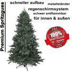 HXT 1418 210 cm artificial christmas tree 001
