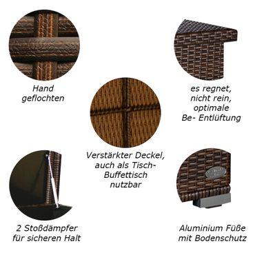 Auflagenbox Venezia Java Braun – Bild 2