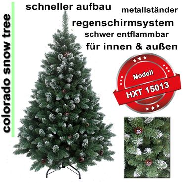 HXT 15013 artificial christmas tree 210 cm