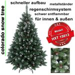 HXT 15013 artificial christmas tree 210 cm  001