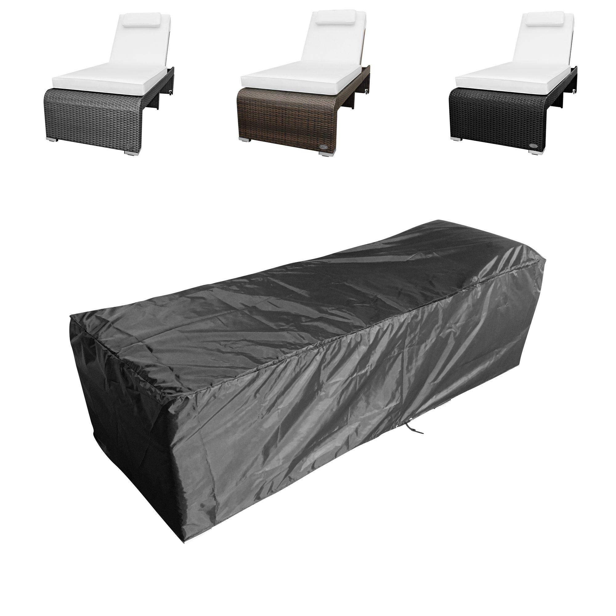 schutzh lle abdeckung gartenliege sonnenliege liegestuhl. Black Bedroom Furniture Sets. Home Design Ideas