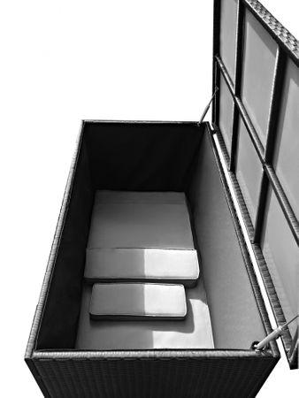 Auflagenbox Sienna Schwarz – Bild 4