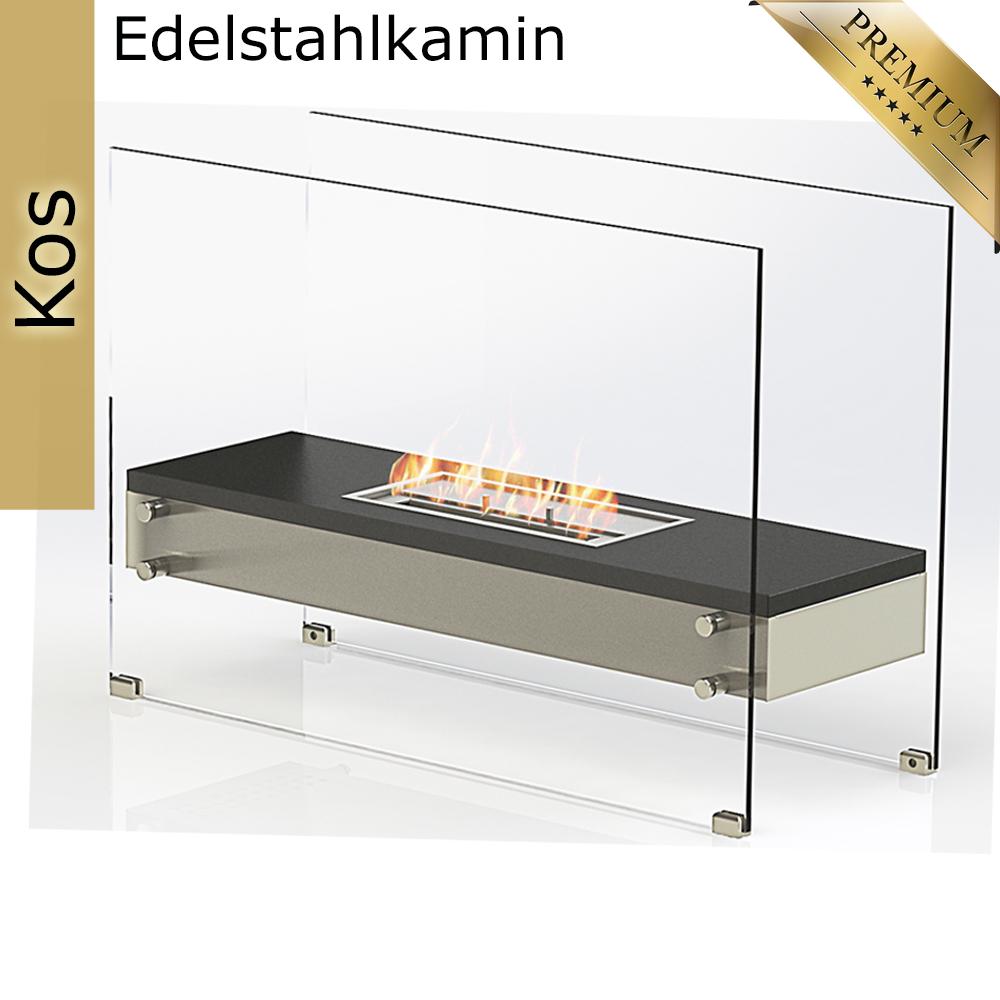 bio ethanol tischkamin standkamin kamin ofen edelstahl wand stand tisch deko haus und. Black Bedroom Furniture Sets. Home Design Ideas