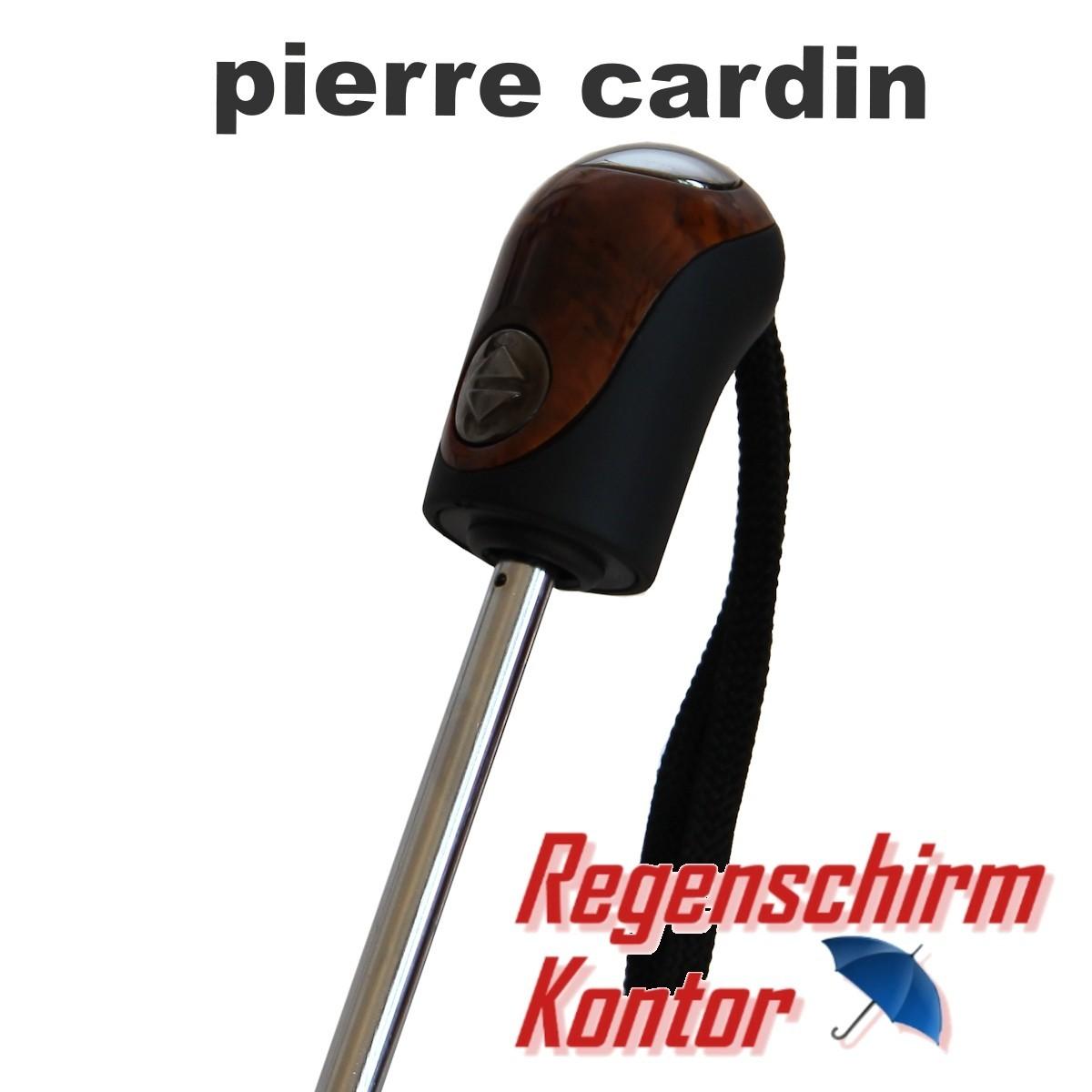 Taschenschirm Noir Easymatic Pierre Cardin