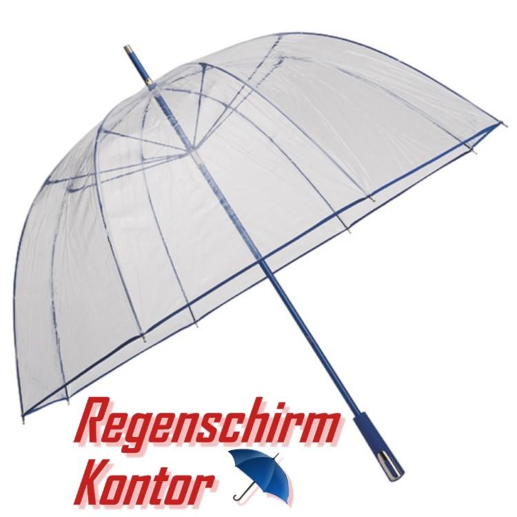 Regenschirm Golfschirm Kuppel-Stockschirm Transparent Durchsichtig