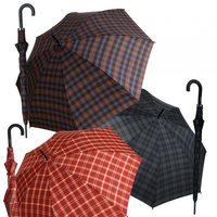 Herrenstockregenschirm Automatik stabol groß rot