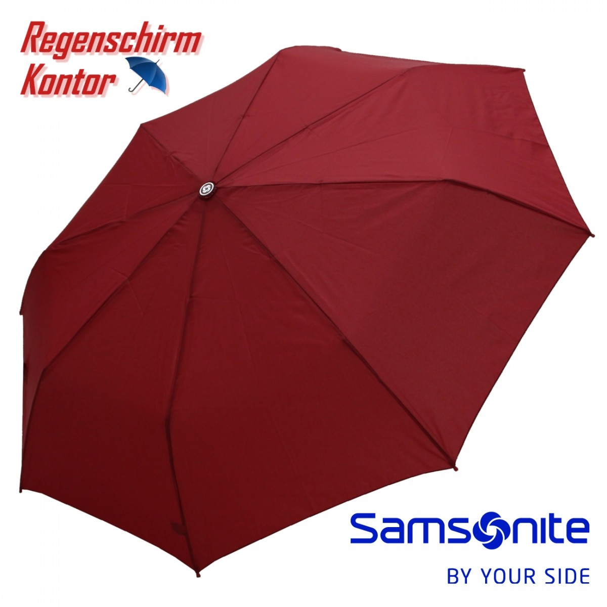 Regenschirm Taschenschirm Samsonite Uni Superlight Auto Open Close