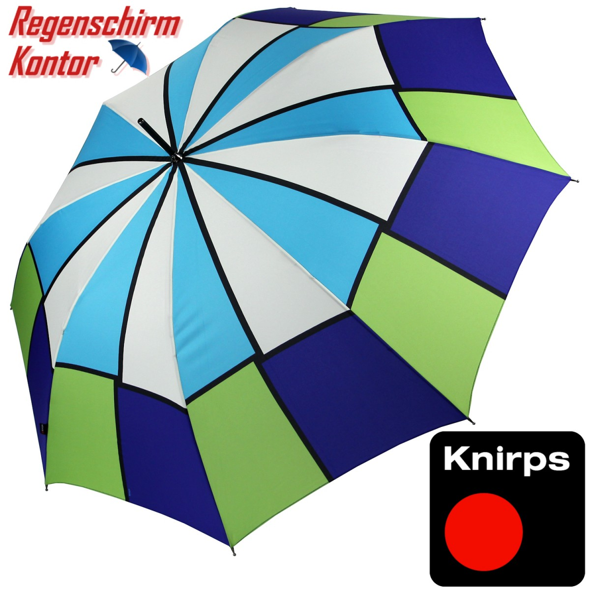 Knirps Stockschirm Damen Multicolor