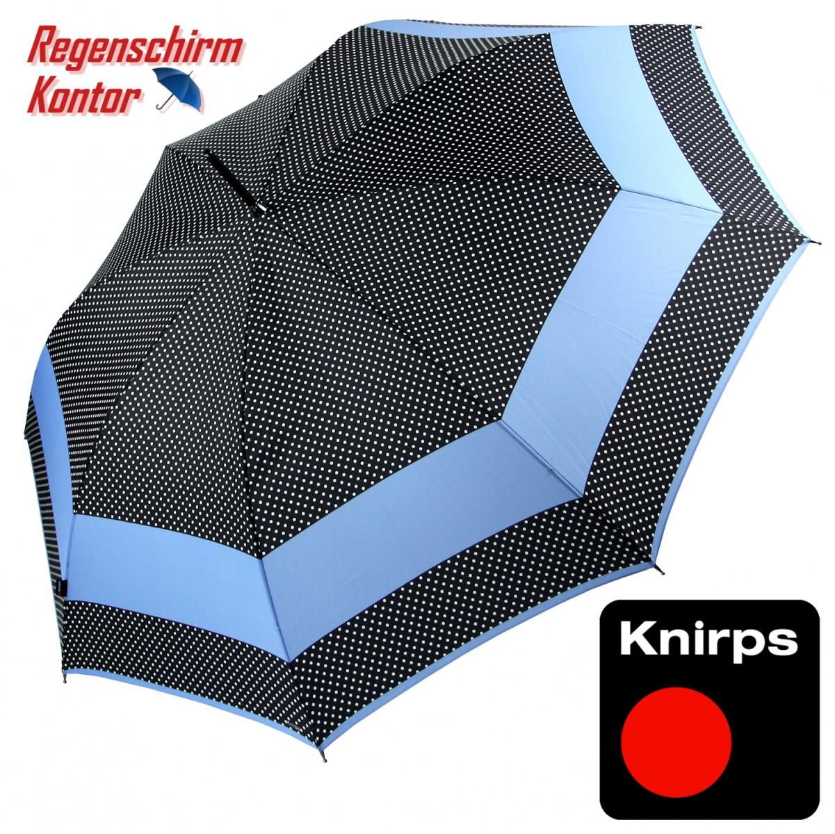 Regenschirm Stockschirm Long AC Knirps Punkte