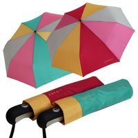 Taschenschirm Damen Esprit Multicolor gruen