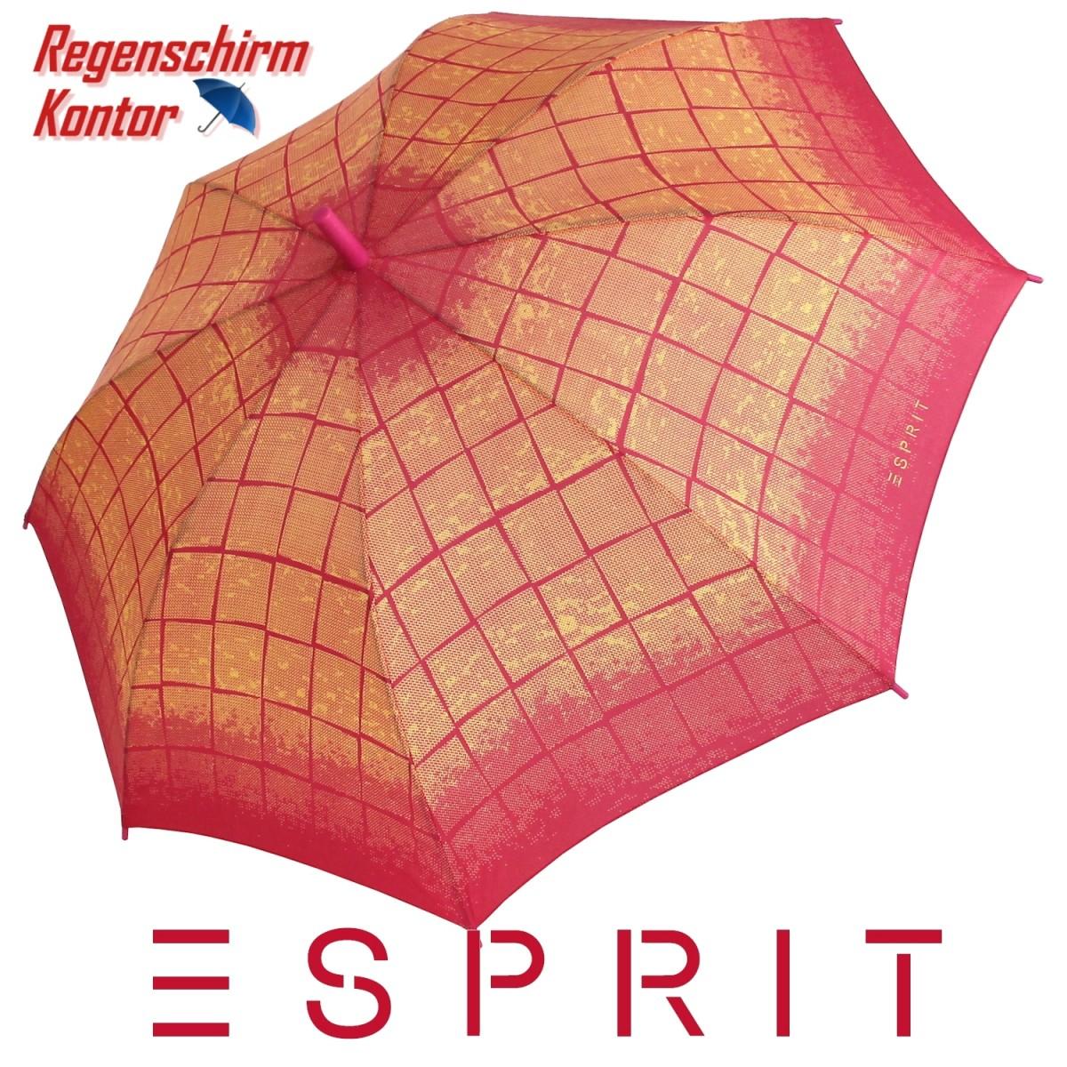 Esprit Stockschirm Damen Karo