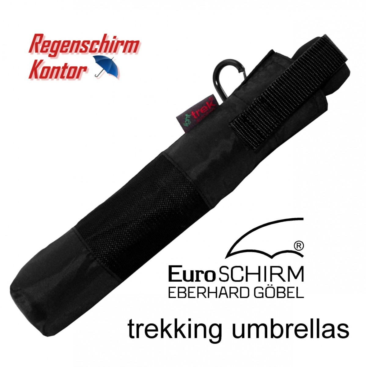 Regenschirm Trekking light trek automatic schwarz