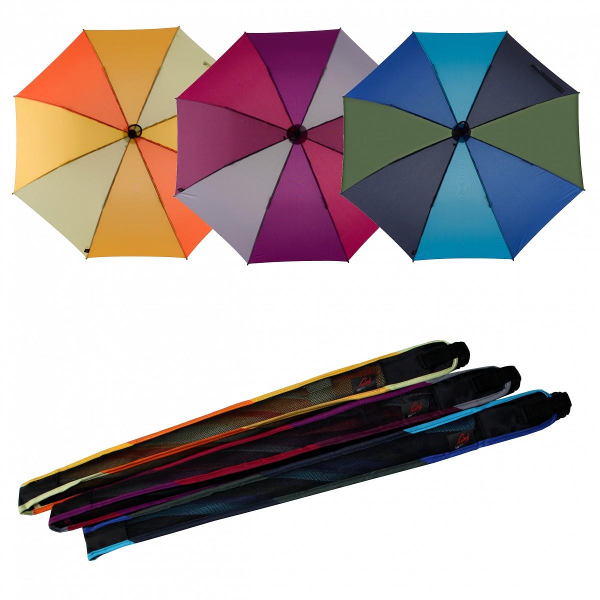 Regenschirm Wanderschirm Trekking Swing liteflex Multicolor