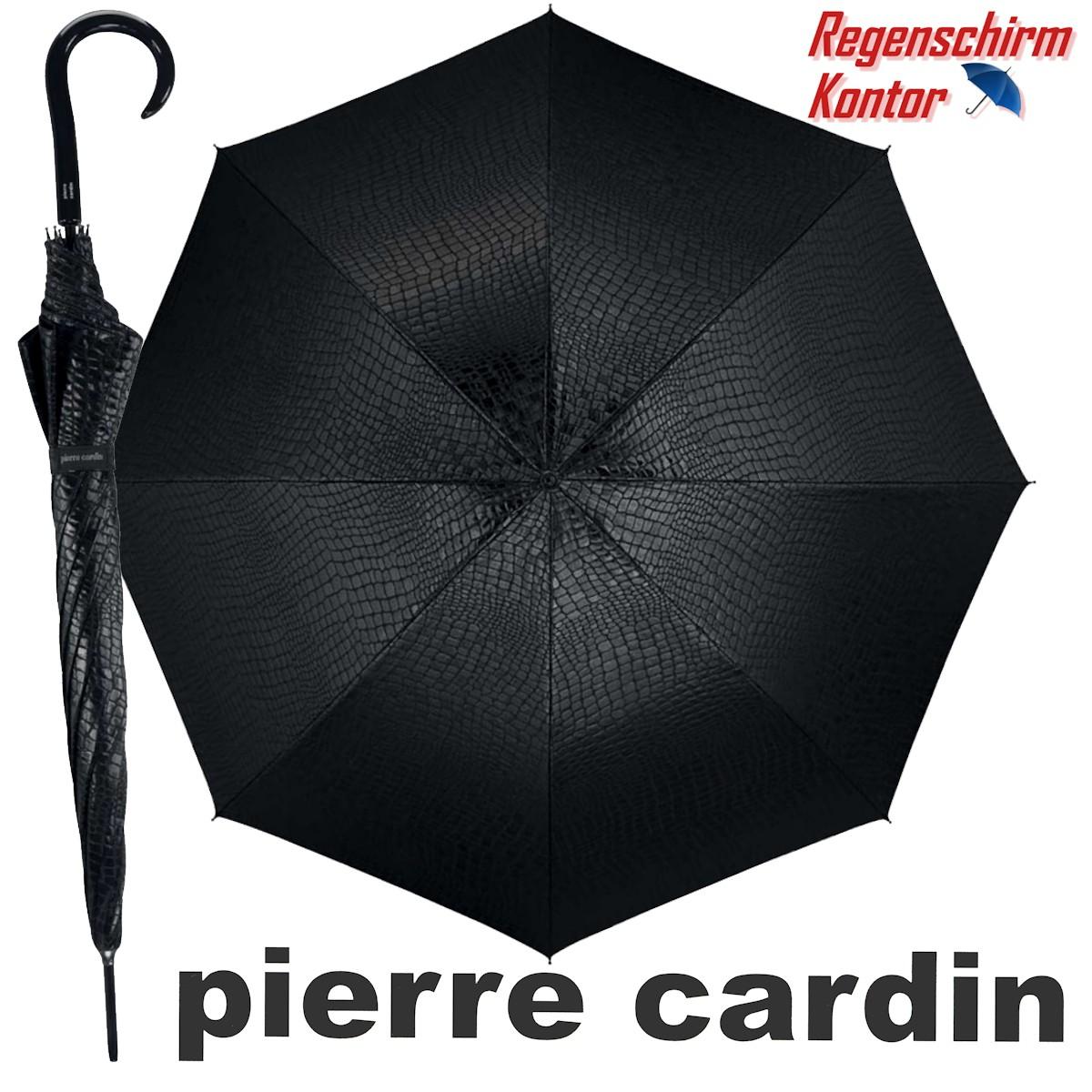 Regenschirm Stockschirm Damen Jacquard Pierre Cardin