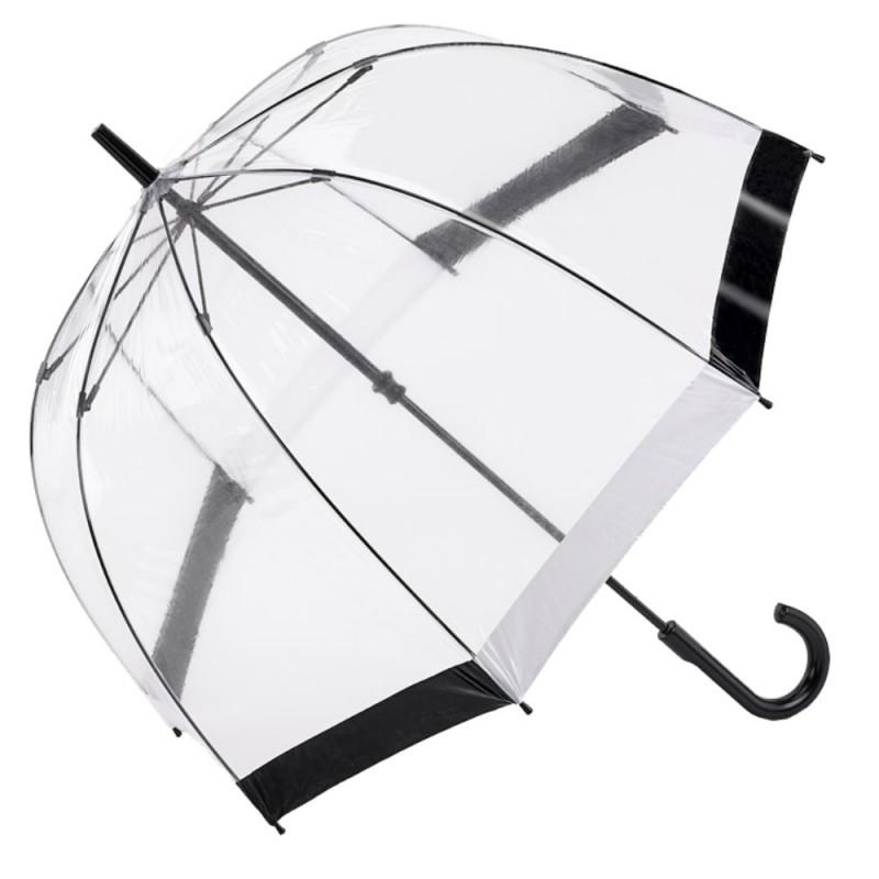 Fulton Glockenschirm Regenschirm  transparent durchsichtig