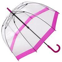 Fulton Transparentschirm Glockenschirm pink