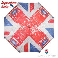 Stockschirm Motivschirm London Flagge UK