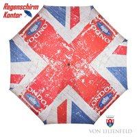 Stockschirm Motivschirm London Flagge UK