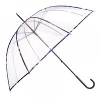 Regenschirm Stockschirm Damen transparent