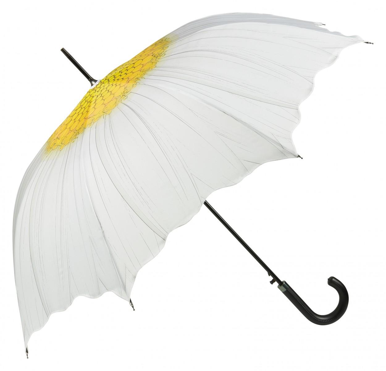 Regenschirm Damen Motiv Margerite