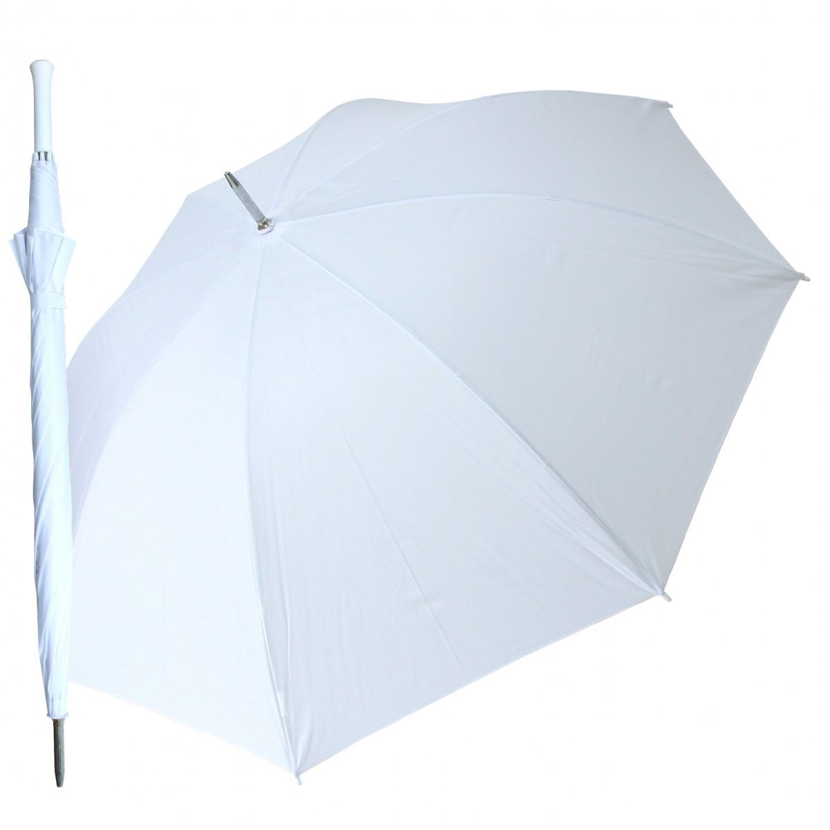 Regenschirm  Partnerschirm Doppler Weiß