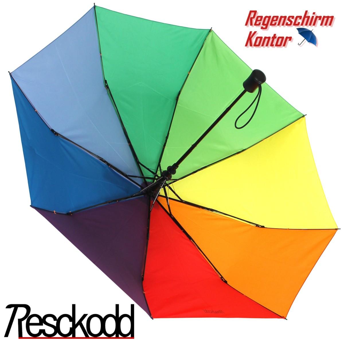 Taschenregenschirm Regenbogen