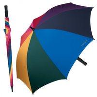 Partnerschirm Golfschirm Portierschirm Regenbogen Esprit
