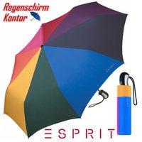 Taschenminiregenschirm Regenbogen Esprit