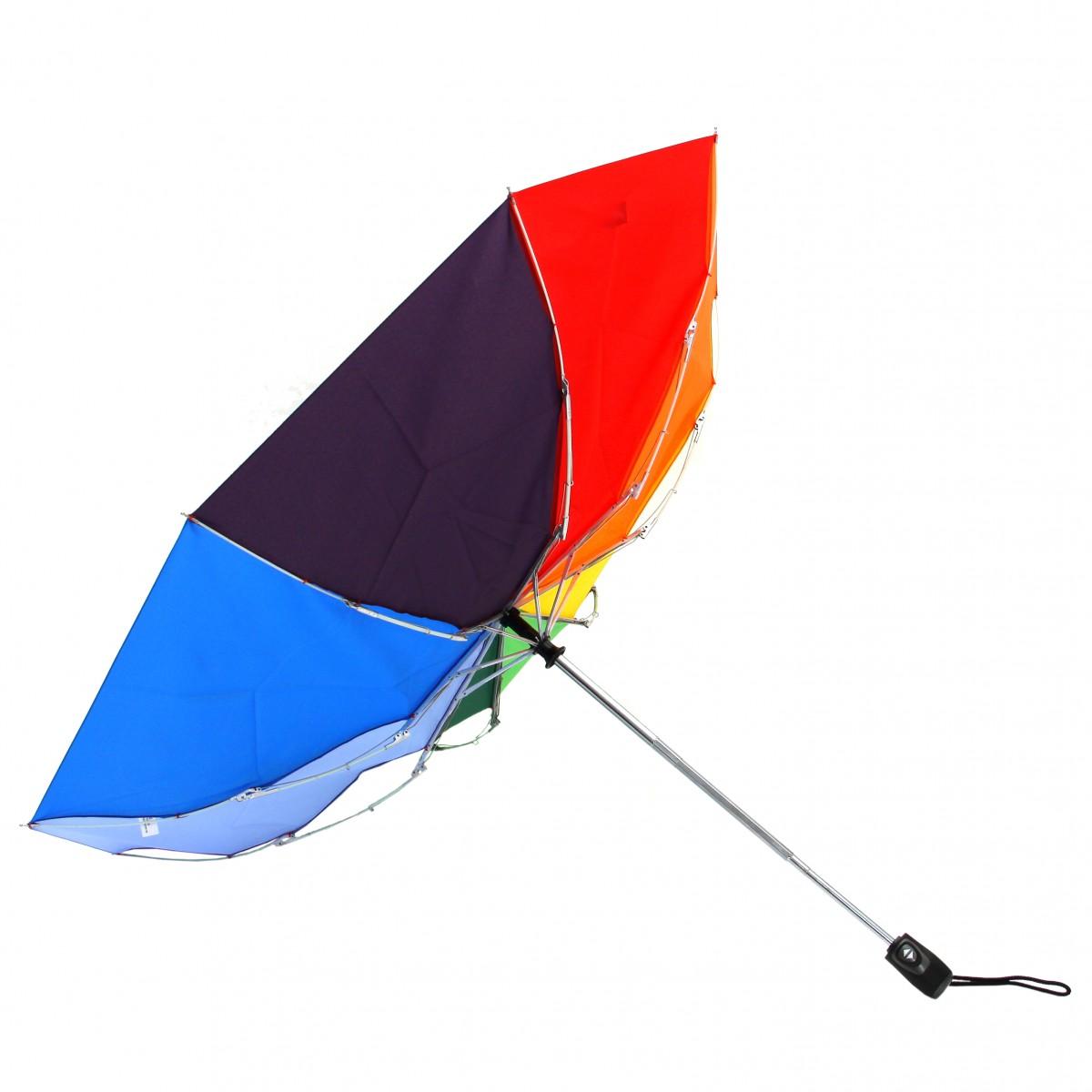 Regenschirm Taschenschirm Regenbogen
