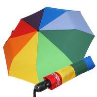 Regenbogentaschschirm Auf-Zu-Automatik achtfarbig mini Resckodd