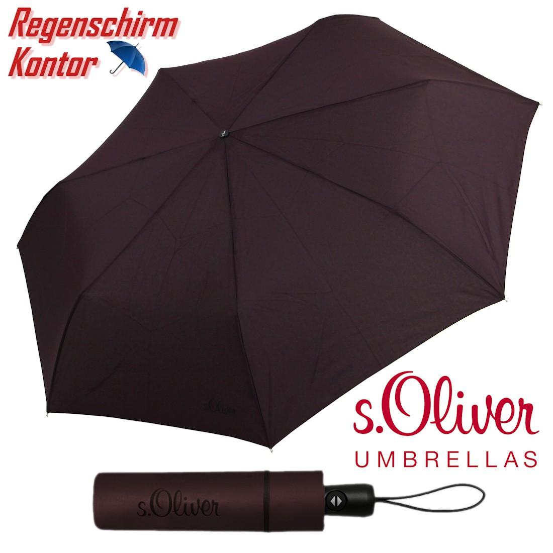 s.Oliver Regenschirm Minischirm Damen