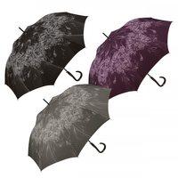 Stockregenschirm Damenregenschirm Pierre Cardin Automatikregenschirm schwarz