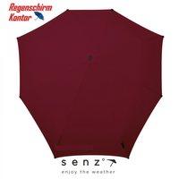 Sturmregenschirm Damenregenschirm Herrenregenschirm Taschenschirm dunkelrot