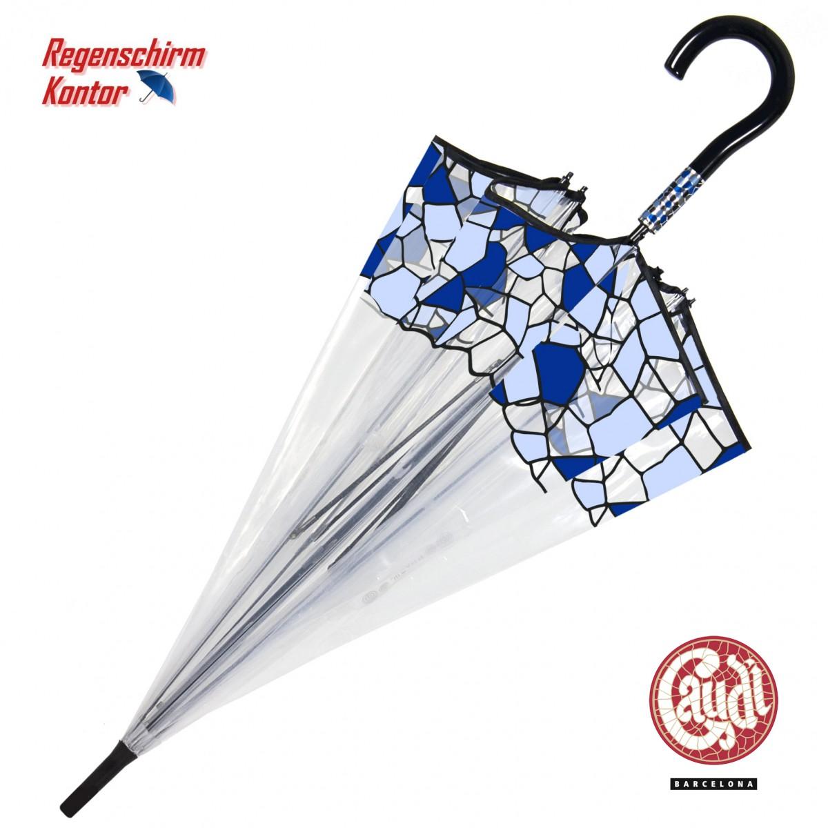 Gaudi Transparentschirm Glockenschirm