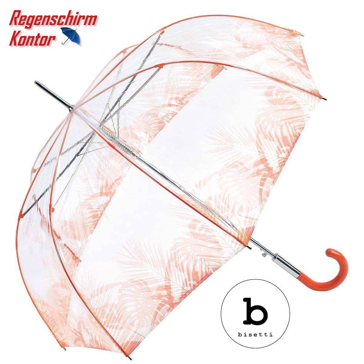 Regenschirm Transparent Durchsichtig Glockenschirm Automatik