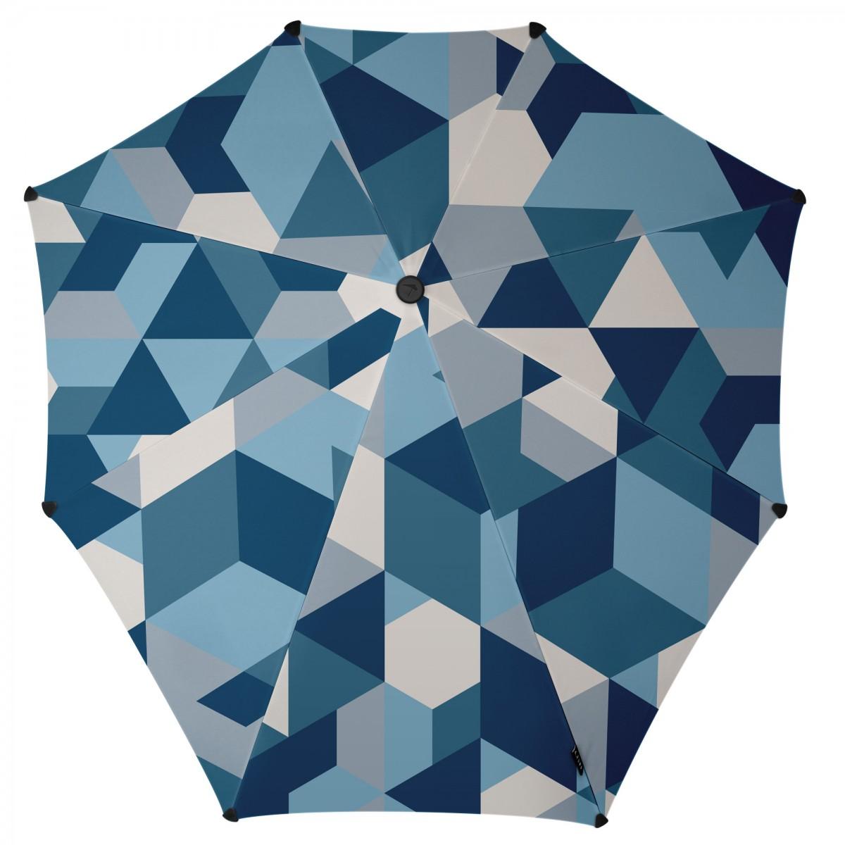 Senz Original Sturm-Regenschirm Sporty Blue