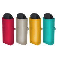 Minitaschentegenschirm Unifarben Manual Damenminiregenschirm