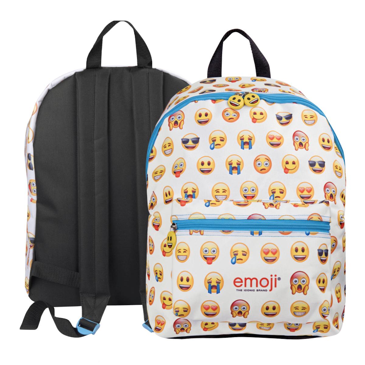Perletti Rucksack Jungen Mädchen Emoji