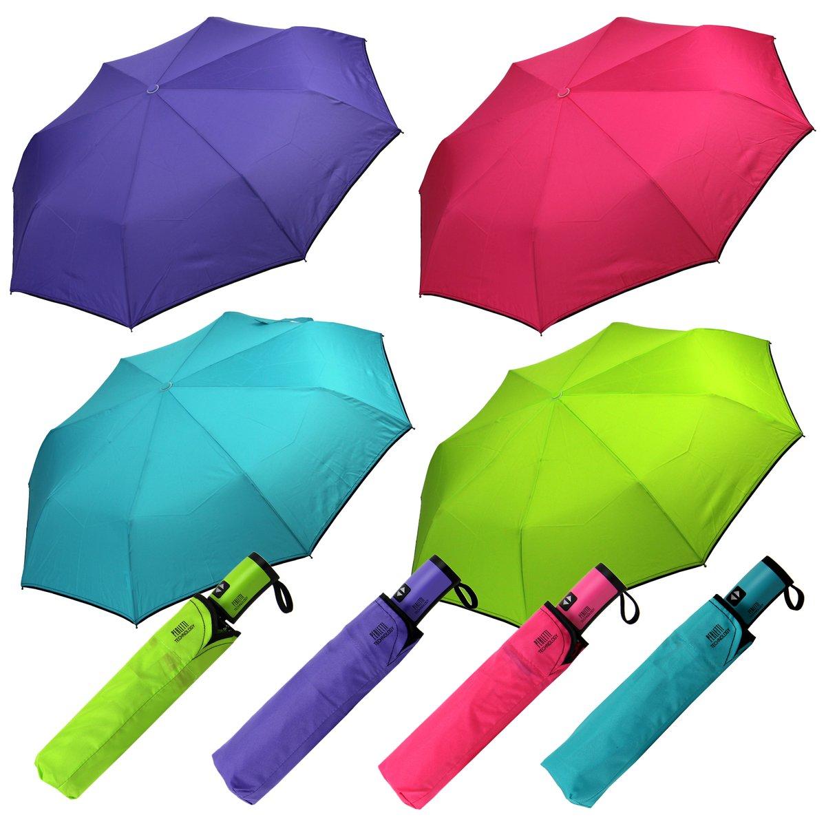 Taschenschirm Damen Neon